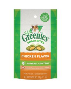 Greenies Smartbites Hairball Control Chicken (60g)
