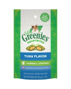 Greenies Smartbites Hairball Control Tuna (60g)