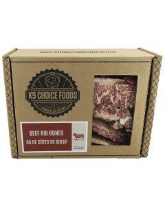 K-9 Choice Frozen Beef Rib Bones