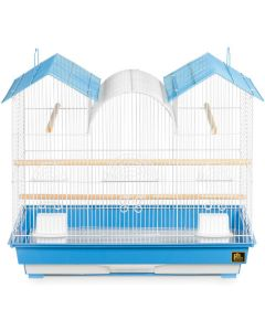 Prevue Hendryx Triple Roof Blue Cage