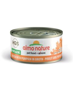Almo Nature Natural Chicken with Pumpkin in Broth Cat Food