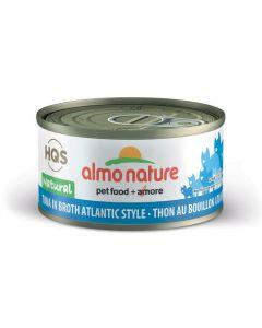 Almo Nature Natural Tuna in Broth Atlantic Style Cat Food