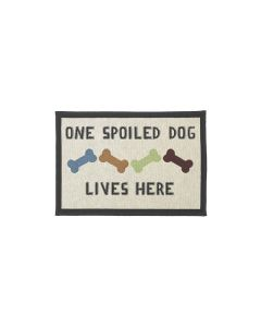 Petrageous One Spoiled Dog Placemat