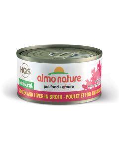 Almo Nature Natural Chicken & Liver (70g)