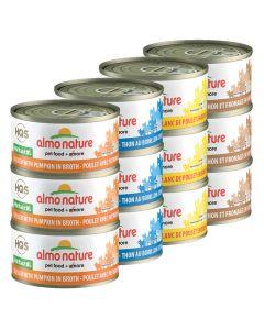 Almo Nature Chicken & Tuna Variety Pack [12x70g]