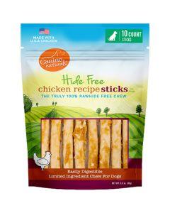 Canine Naturals Hide Free Chicken Sticks [10 Pack]
