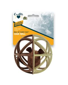OurPets Ball of Furry Fury Cage Ball