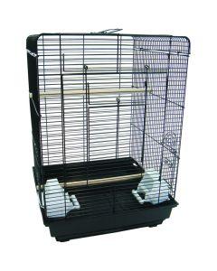 YML Flat Top Bird Cage Black
