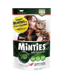 Minties Salmon Dental Cat Treats [70g]