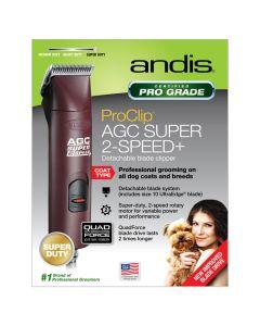 Andis ProClip AGC Super 2-Speed+ Clipper Burgundy