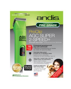 Andis ProClip AGC Super 2-Speed+ Clipper Green