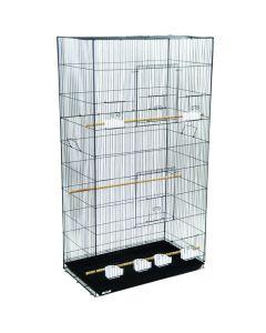 YML Breeder Bird Cage Black [X-Large]