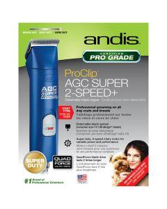 Andis ProClip AGC Super 2-Speed+ Clipper Blue