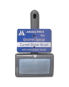 Millers Forge Groomer Special Curved Slicker Brush with Unbreakable Handle