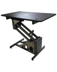 "Groomer's Best Hydraulic Grooming Table Black [24""x42""]"