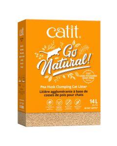 Catit Go Natural! Pea Husk Clumping Cat Litter Natural [14L]