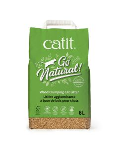 Catit Go Natural! Wood Clumping Cat Litter