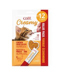 Catit Creamy Chicken Liver Recipe [12x15g]