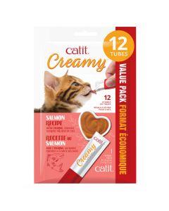 Catit Creamy Salmon Recipe [12x15g]