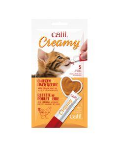Catit Creamy Chicken & Liver (5 Pack)
