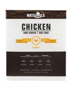 Naturawls Frozen Chicken Raw Dinner Dog Food