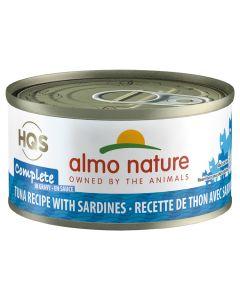 Almo Nature Complete Tuna & Sardines (70g)