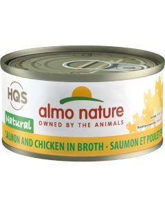 Almo Nature Natural Salmon & Chicken (70g)