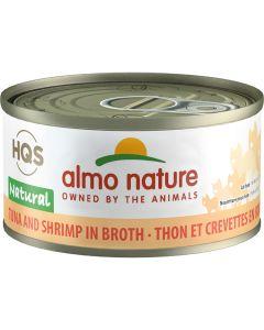 Almo Nature Natural Tuna and Shrimp in Broth Cat Food [70g]