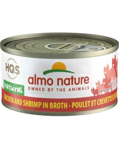Almo Nature Natural Chicken & Shrimp (70g)