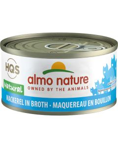 Almo Nature Natural Mackerel in Broth Cat Food [70g]
