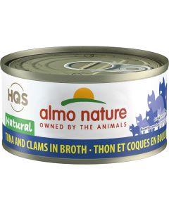 Almo Nature Natural Tuna & Clams (70g)