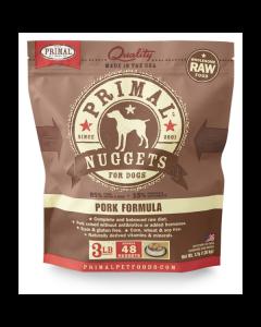 Primal Nuggets Pork Formula Raw Dog Food [3lb]
