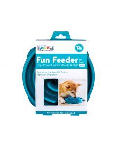 Outward Hound Fun Feeder Slo Bowl Turquoise [Medium/Mini]