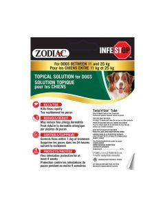 Zodiac Infestop Topical Solutions for Dogs
