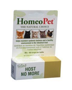 HomeoPet Cat Host No More (15ml)