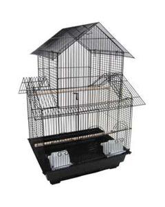YML Villa Top Bird Cage Black