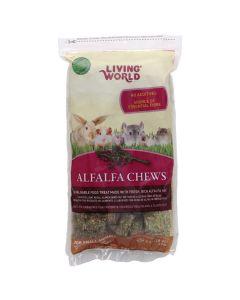 Living World Alfalfa Chews (454g)