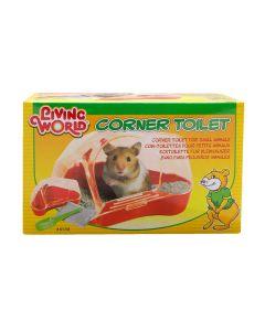 Living World Corner Toilet for Hamsters & Gerbils