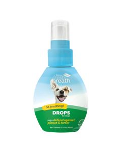 Tropiclean Fresh Breath Drops (65ml)