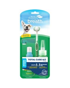 Tropiclean Fresh Breath Total Care Kit for Dogs