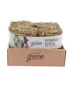 Living World Green Botanicals Meadow Hay Bale Herb & Flower Mix [4x150g]