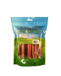 """Nature's Own Bull Stick (6"""" 18 Pack)"""