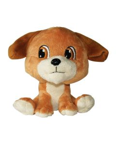 Dogit Luvz Big Heads Brown Dog