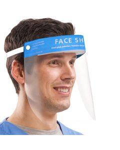 P.E.T. Face Shield with Elastic & Sponge Headband