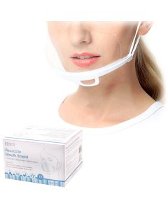 Bodico Reusable Mouth Shield [10 Pack]