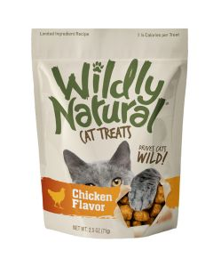 Wildly Natural Chicken Flavor Cat Treats [71g]