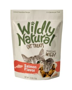 Wildly Natural Salmon Flavor Cat Treats [71g]