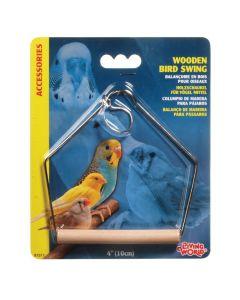 Living World Wooden Bird Swing