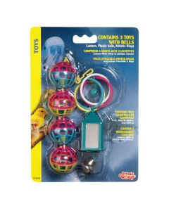 Living World 3 Toys with Bells