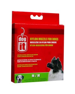 Dogit Nylon Muzzle for Dogs